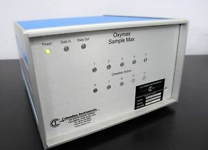 Columbus Instruments Oxymax Sample Max 191 8 channel For Animal Testing Unit