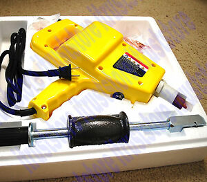 Complete Auto Body Dent Repair Kit Electric Stud Welder Gun W 2lb Puller Hammer