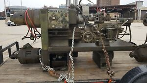 Warner Swasey No 3 Turret Lathe M 2700 Electro Cycle Cross Slide Will Ship