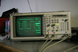 Hp 54522a 500 Mhz 2gsa s Digital Oscilloscope Dso Calibrated W Probe Fft Nice