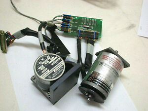 Two Servo Motors optical Board etc from A Vickers Motorized Microscope