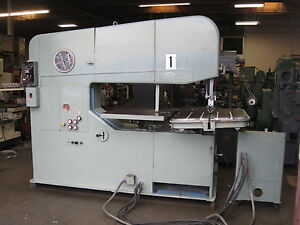 Doall Vertical Band Saw In Great Condition 60