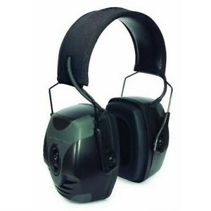 Howard Leight R 01902 Impact Pro Electronic Earmuff Black gray Retail Package
