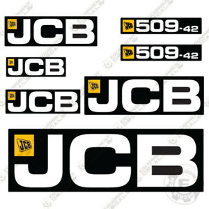 Jcb 509 42 Telehandler Decal Kit Loadall Full Set