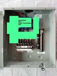Whole House Solar Generator Universal Automatic Transfer Switch 110 220 120a