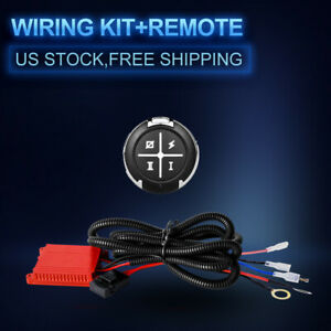 Led Light Bar Remote Control Wiring Harness Kit For Dual Colors Truck Us Switch