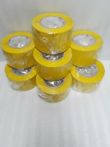 Uline Industrial Vinyl Safety Tape 3 X 36 Yds Yellow 7 50 7 15ea