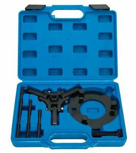 Harmonic Installer Balance Damper Pulley Puller Tool Kit For Gm Chrysler