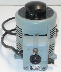 Power Stat Variable Autotransformer Variac 120v In And 0 140v Out 9 Amps 116