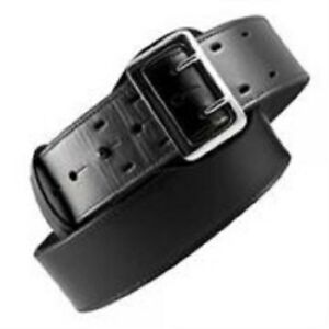 Boston Leather 6501 1 32b Black Basketweave Lined 2 25 Sam Browne Duty Belt 32