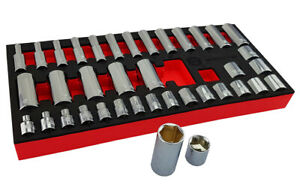 Facom 1 4in Drive 26 Piece Metric Socket Accessory Set R 4apb Sale Time Is Now