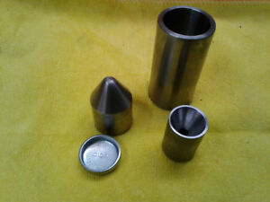 25mm Size Freeze Plug Forming And Center Drill Tool 1 Inch