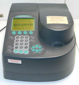 Thermo Spectronic Genesys 10vis Spectrophotometer 335901 With Six Cell Changers