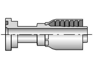 Parker Hannifin Hydraulic Fitting 11543 12 8