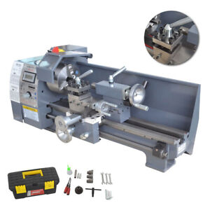 8 x16 750w High Precision Mini Digital Metal Lathe Variable Speed Workbench