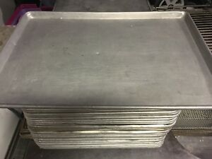 Bakery Pans 18x26 Commercial Bakery Bakeware Pre Owned