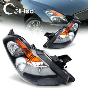 Headlights Headlamps Front Driving Lamps Kit For 2007 2009 Nissan Altima Pair Us