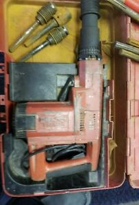 Hilti Te 92 Hammer Drill Used Working Condition Free Shipping