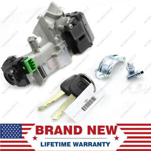 For 03 04 05 06 07 Honda Accord Ignition Switch Cylinder Lock Auto Trans 2 Keys