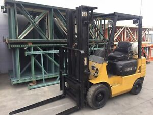 Forklift Used Pneumatic Tire Caterpillar