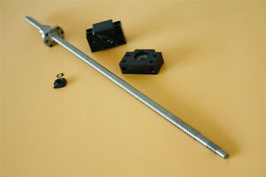 Sfu1204 600mm Ball Screw With 1204 Single Ball Nut End Machined C7 Bk10 bf10