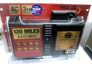 American Farm Works A c Electric Fence 120 Miles New