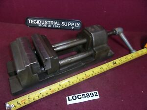 Eron 4 Speed Drill Press Milling Vise V Groove Jaws Loc5892