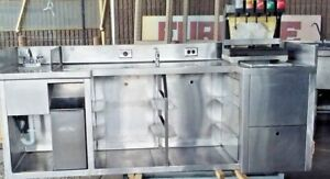 Commercial Restaurant Kitchen Stainless Steel Bussing Station
