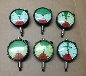 Mahr Federal Dial Indicator C1r40 0005 Qty 6 Varying go Range Nice