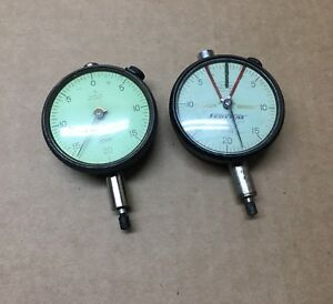 Mahr Federal Dial Indicators C6k 0005 Qty 2 Good Condition