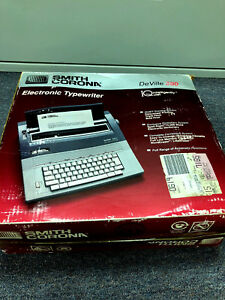 Smith Corona Deville 580 Typewriter With Spell Right Dictionary