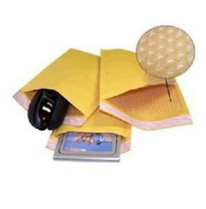 1000 000 4x8 Kraft Bubble Padded Envelopes 4 5 X 8 X wide Mailers Bags