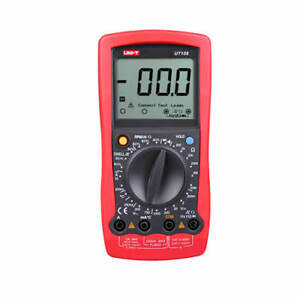 Ut106 Automotive Multimeter Dwell Tach 2000 Counts Temperature Frequency 10 Func