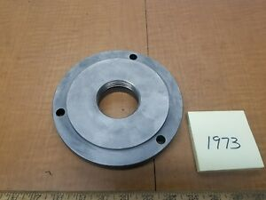 South Bend Heavy 10 Chuck Backing Plate 6 5od5 12pilot 21 4 8tpi