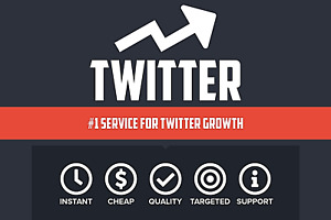 Twitter Service Real Follow rs Lik s R tweets Instant Growth