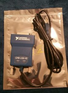 New National Instruments Ni Gpib usb hs Interface Adapter Controller Ieee New