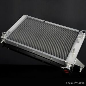 For 1994 1995 Ford Mustang Gt Gts Svt 3 8l 5 0l Mt Aluminum Racing Radiator