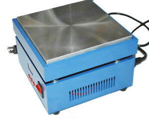 New Electronic Hot Plate Preheat Preheating Station 110v 800w 200 200 20mm