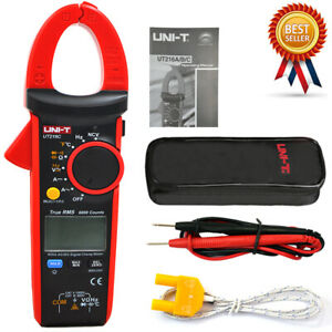 Uni t Ut216c 600a True Rms Digital Clamp Meters