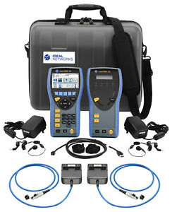 Ideal Networks R161003 Lantek Iii 500mhz Cable Certifier including Pl Adapters