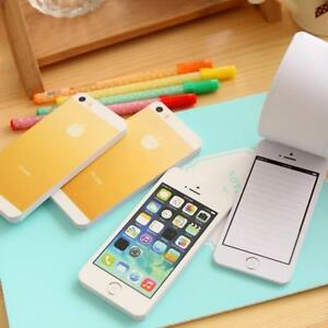 Iphone Sticky Memo Funny Memory Design Note Pad Creative Look Stick Paper Pads