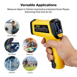 New Digital Infrared Thermometer Ir Laser Temperature Gun Non contact Food Body