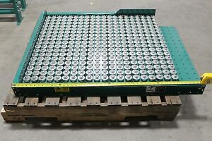 Automated Conveyor Ball Transfer Table 39 w X 42 l 1 Balls 2 On Center