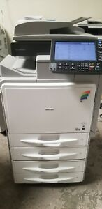 Ricoh Mp C400sr Color Copier With Staple Finisher