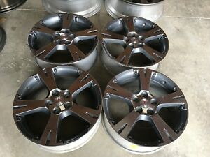 18 Pontiac Vibe 18x7 2009 2010 Rims Polished Wheels Factory Oem
