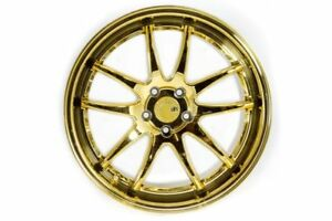 Aodhan Ds02 19x9 5 19x11 225x114 3 Gold Vacuum Staggered G35 Coupe 370z Supra
