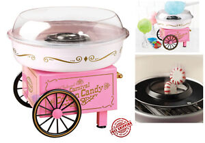 Nostalgia Electrics Cotton Candy Maker Machine Vintage Sugar Free Floss Kids Top