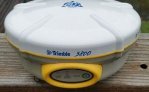Trimble 5800 Gps rtk receiver 450 To 470mhz Radio bluetooth firmware V2 32