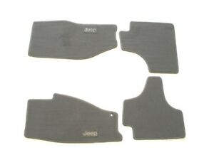 08 09 10 Jeep Liberty Brown Carpet Floor Mats Rugs Liners Oem Used Poor Set 2
