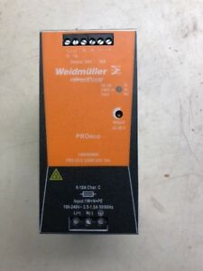 Weidmuller Power Supply Pro Eco 240w 24v 10a 14694490000